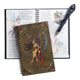 The Rose Fairy Hardcover Journal (Blank pages)