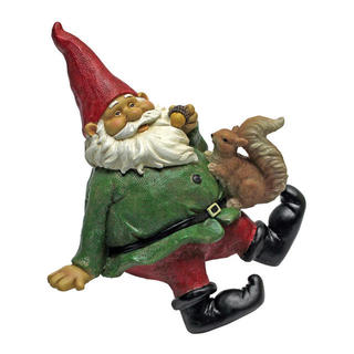 Osbert the Garden Gnome shelf-sitter