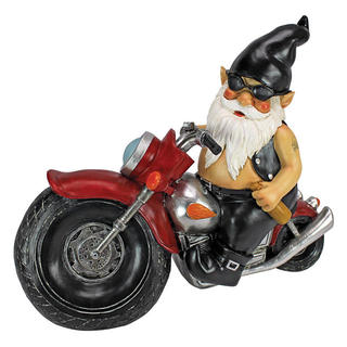 Axel Grease the Biker Gnome statue