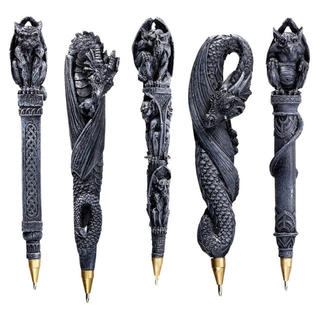 Gargoyles & Dragons Sculptural Pen Collection