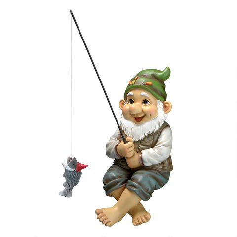 Ziggy the Fishing Gnome statue